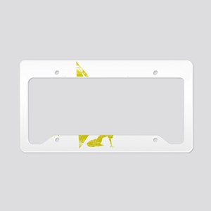 LAW SCHOOL WHT License Plate Holder