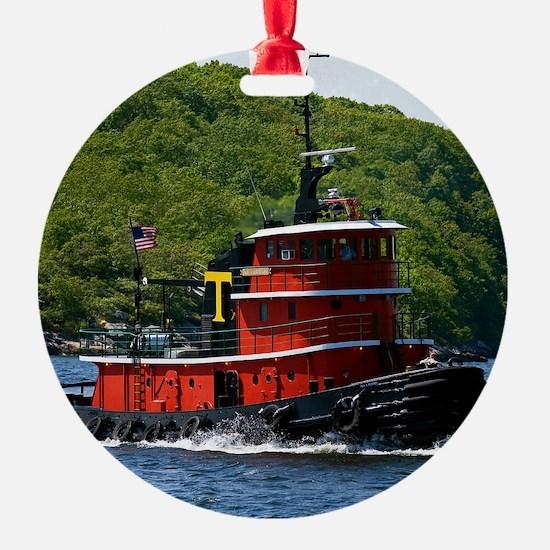 (15) sub tug Ornament