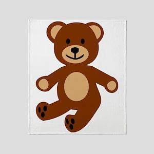 teddy_bear-2010 Throw Blanket