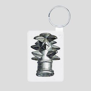 ancient irish war club Aluminum Photo Keychain