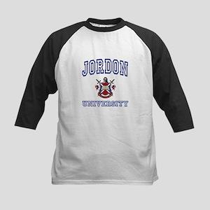 JORDON University Kids Baseball Jersey