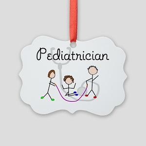 Pediatrician Picture Ornament
