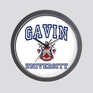 GAVIN University Wall Clock