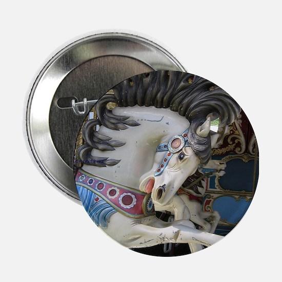 """Carousel Horse 2.25"""" Button"""