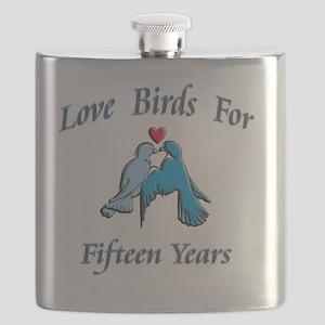 love birds 15 Flask
