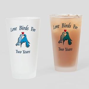 love birds 2 Drinking Glass