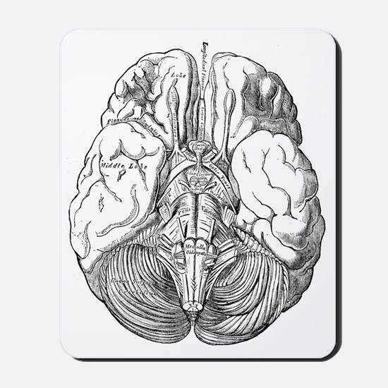brain4 1887 Mousepad