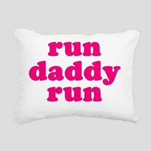 rundadyrun_pink Rectangular Canvas Pillow