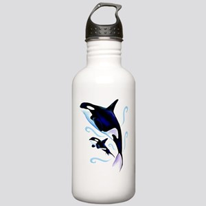 Mom and Baby Trans Stainless Water Bottle 1.0L