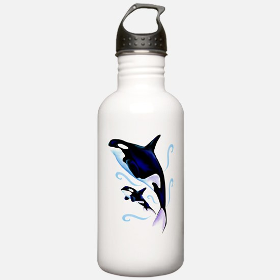 Mom and Baby Trans Water Bottle