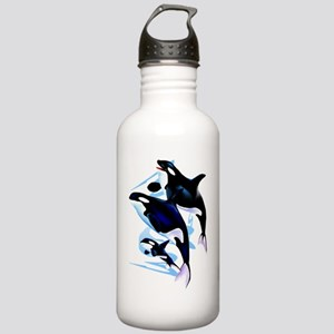 Orca Family Trans Stainless Water Bottle 1.0L