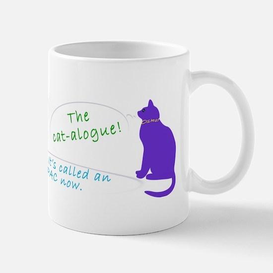 Librarian Cat-toon Mug