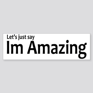 ImAmazing Sticker (Bumper)