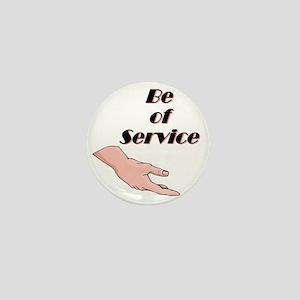 be-of-service Mini Button