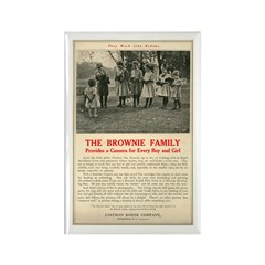Brownie Camera Ad #2 Rectangle Magnet