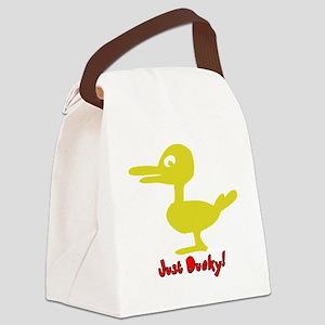 duck KIDZ Canvas Lunch Bag