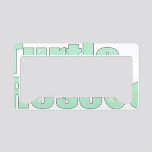 turtlerescue License Plate Holder
