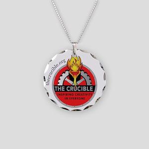 Crucible_Logo_Round-w3 Necklace Circle Charm