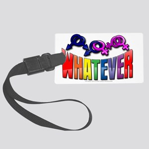 whatever Large Luggage Tag