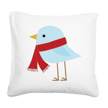 bird 2 Square Canvas Pillow