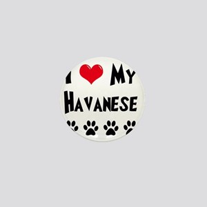 I-Love-My-Havanese Mini Button