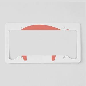 oink-01 License Plate Holder