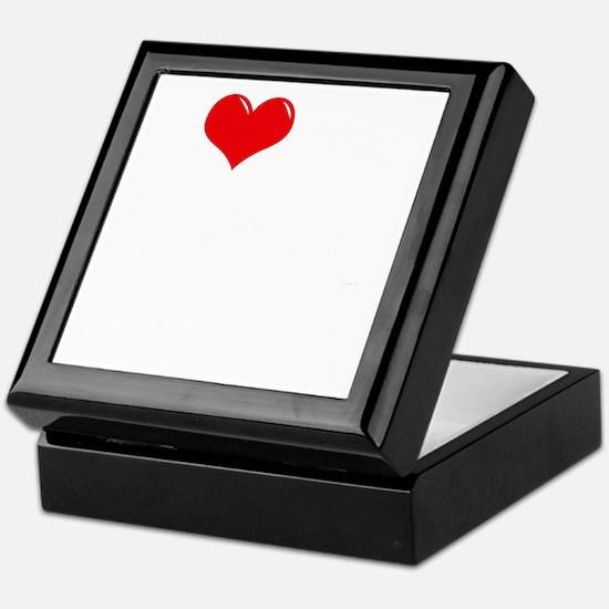 I-Love-My-Rottie-dark Keepsake Box