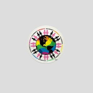 Diversity-LGBT Mini Button