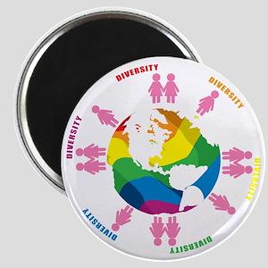 Diversity-LGBT-blk Magnet