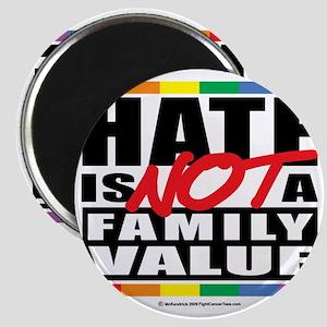 Hate-Family-Value Magnet