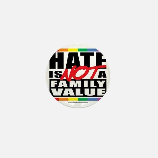 Hate-Family-Value Mini Button