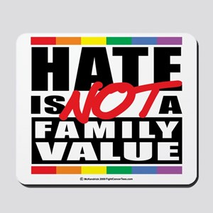 Hate-Family-Value Mousepad