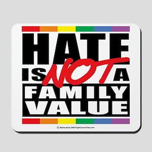Hate-Family-Value Mousepad