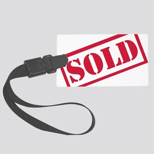 sold Large Luggage Tag