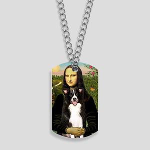 Mona Lisa - Border C - redone Dog Tags
