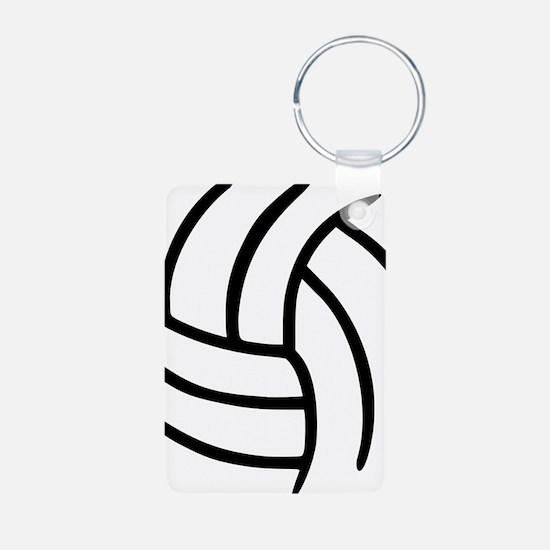 volleyball_birdview Keychains