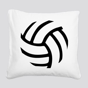 volleyball_birdview2 Square Canvas Pillow