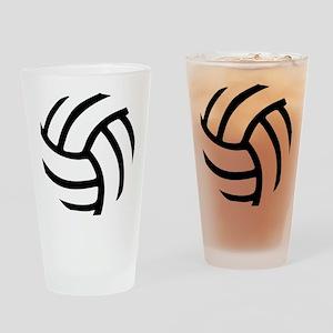 volleyball_birdview2 Drinking Glass