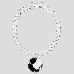 geocaching_gpsman Charm Bracelet, One Charm