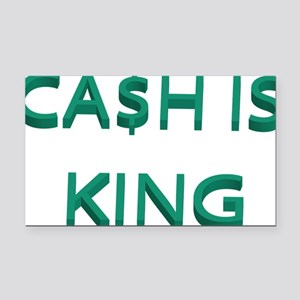 cash Rectangle Car Magnet