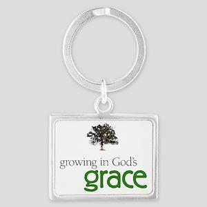 Gods graceTreeHuge Landscape Keychain
