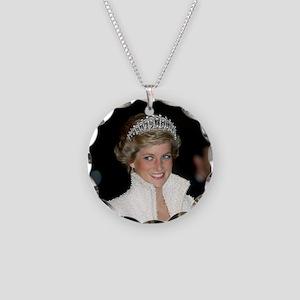 Princess Diana Hong Kong Necklace Circle Charm
