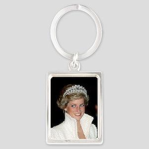 Princess Diana Hong Kong Portrait Keychain