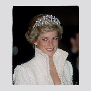 Princess Diana Hong Kong Throw Blanket