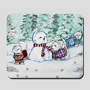 Christmas Card NEW 4.5 5.75 Mousepad