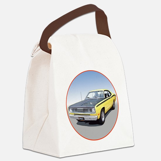 71Duster340-C3trans Canvas Lunch Bag