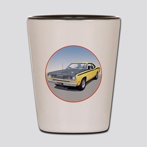 71Duster340-C3trans Shot Glass