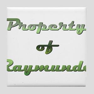 Property Of Raymundo Male Tile Coaster