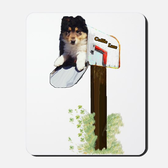 Rough Collie Puppy Mousepad