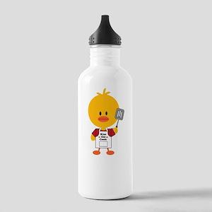 3-GourmetChickDkT Stainless Water Bottle 1.0L